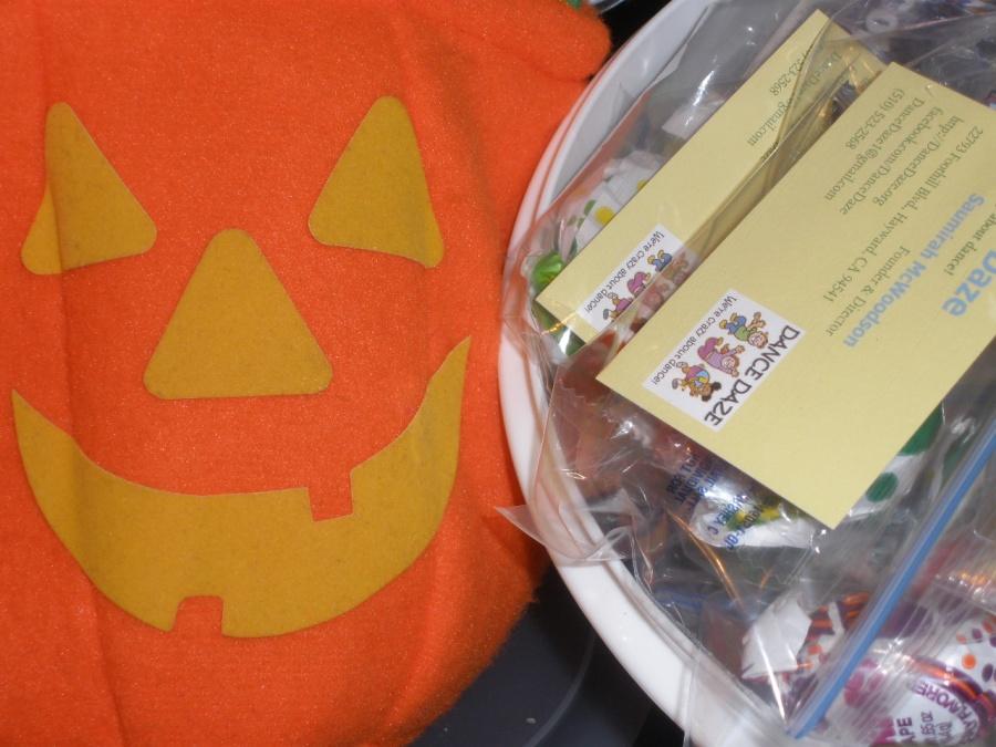 Halloween Pumpkin on DanceDaze.org
